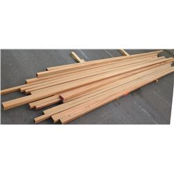 "African Mahogany Bundle, 40 Total Board Ft, 2"" x 13' Ave Per Piece"