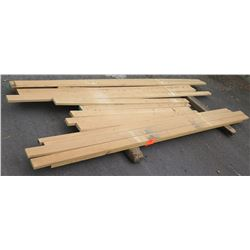 "White Oak Bundle, 55 Total Board Ft, 1"" & 1.25"" x 8' Ave Per Piece"