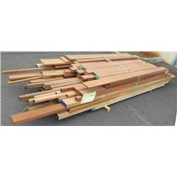"Wood Bundle, 480 Total Board Ft, 1"" & 1.25"" x 9' Ave Per Piece"