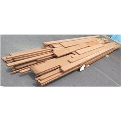 "Sapele Bundle, 300 Total Board Ft, 1"" x 12' Ave Per Piece"