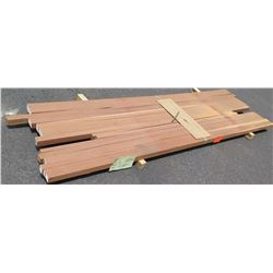 "Santos Mahogany Bundle, 50 Total Board Ft, 2"" x 9' Ave Per Piece"