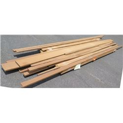 "Iroko Bundle, 120 Total Board Ft, 1"" x 13' Ave Per Piece"