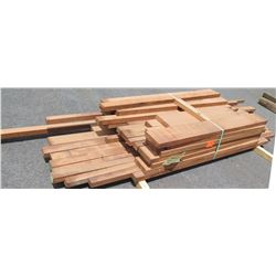 "Sapele Bundle, 275 Total Board Ft, 2"" x 8' Ave Per Piece"