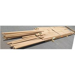 "Iroko Bundle, 260 Total Board Ft, 1.5"" x 13' Ave Per Piece"