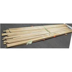 "Poplar Bundle, 90 Total Board Ft, 1"" x 13' Ave Per Piece"