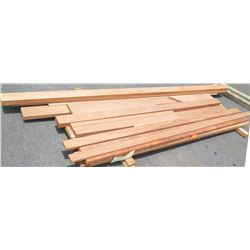 "Sapele Bundle, 145 Total Board Ft, 1"" x 8' Ave Per Piece"