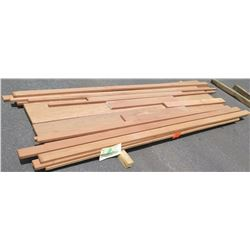 "Santos Mahogany Bundle, 70 Total Board Ft, 1"" x 9' Ave Per Piece"