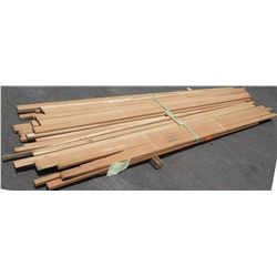 "Maple Bundle, 110 Total Board Ft, 1"" x 12' Ave Per Piece"