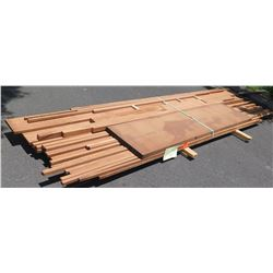 "Sapele Bundle, 150 Total Board Ft, 1"" & 2"" x 8-14' Ave Per Piece"