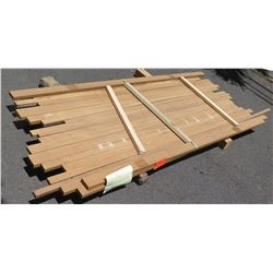 "Teak Bundle, 25 Total Board Ft, 1"" x 8' Ave Per Piece"