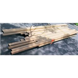 "Teak, Afrormosia Bundle, 330 Total Board Ft, 1"" & 2"" x 8-10' Ave Per Piece"