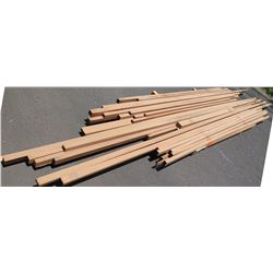 "Sapele Bundle, 180 Total Board Ft, 2"" x 15' Ave Per Piece"