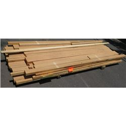 "Laminated Lumber Bundle, 1.5"" x 8' Ave Per Piece"