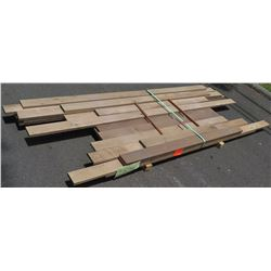 "Walnut Bundle, 60 Total Board Ft, 1"" x 6-8' Ave Per Piece"