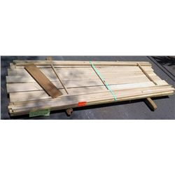 "White Oak Bundle, 45 Total Board Ft, 1"" x 8' Ave Per Piece"