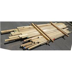 "White Oak Bundle, 140 Total Board Ft, 1"" & 2"" x 11' Ave Per Piece"