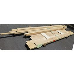 "White Oak Bundle, 80 Total Board Ft, 1"" & 2"" x 9' Ave Per Piece"