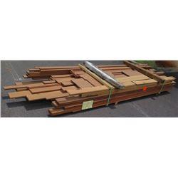 "Sapele Bundle, 450 Total Board Ft, 1"" & 2"" x 11' Ave Per Piece"