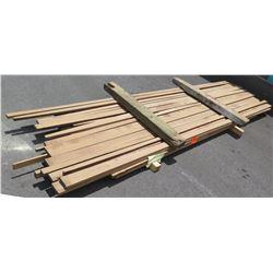 "Walnut Bundle, 100 total Board Ft, 1"" x 11' Ave Per Piece"