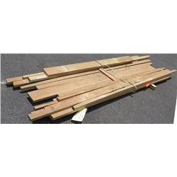 "White Oak Bundle, 70 Total Board Ft, 1.5"" x 8' Ave Per Piece"