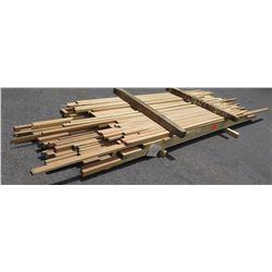 "Poplar Bundle, 260 Total Board Ft, 1"" & 2"" x 11' Ave Per Piece"