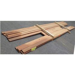"Sapele Bundle, 60 Total Board Ft, 1.5"" x 14' Ave Per Piece"