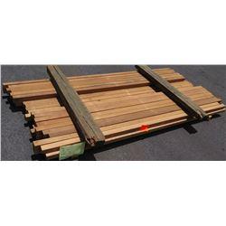 "Western Red Cedar Bundle, 50 Total Board Ft, 2"" x 8' Ave Per Piece"