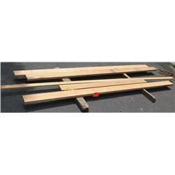 "Western Red Cedar Bundle, 36 Total board Ft, 2"" x 6-10' Ave Per Piece"