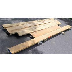 "White Oak Bundle, 50 Total Board Ft, 2"" Ave Per Piece"