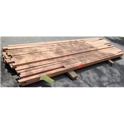 "Sapele Bundle, 120 Total Board Ft, 1"" x 10' Ave Per Piece"