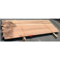 "Sapele Bundle, 24 Total Board Ft, 1"" x 8' Ave Per Piece"