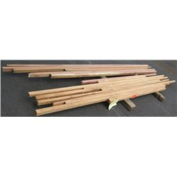 Santos Mahogany, Fir Bundle, 60 Total Board Ft, 6-12' Ave Per Piece