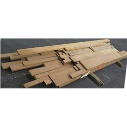 "Iroko Bundle, 190 Total Board Ft, 1"" x 6-12' Ave Per Piece"