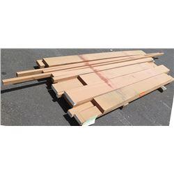 "Santos Mahogany Bundle, 130 Total Board Ft, 2"" x 9' Ave Per Piece"