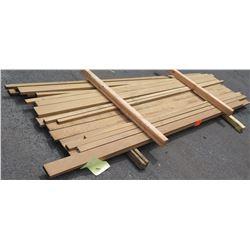 "Afrormosia Bundle, 70 Total Board Ft, 1.25"" x 9' Ave Per Piece"