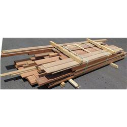 Walnut, Mahogany, Oak Bundle, 300 Total Board Ft