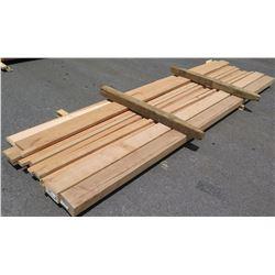 Wood Bundle, 420 Total Board Ft, 6-13' Ave Per Piece