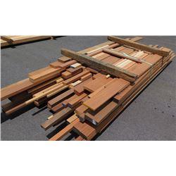"Sapele Bundle, 240 Total Board Ft, 1"" x 7-12' Ave Per Piece"