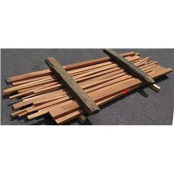 Sapele Bundle, 25 Total Board Ft, 2' Ave Per Piece