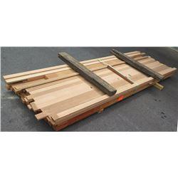 "Fir Bundle, 220 Total Board Ft, 1"" & 2"" x 10' Ave Per Piece"