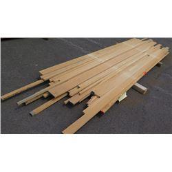 "White Oak Bundle, 100 Total Board Ft, 1"" x 10' Ave Per Piece"