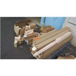 Large Lot Stair Handrail Fittings, Newel Posts & Balusters