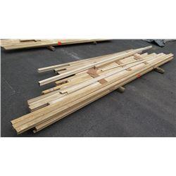 Wood Bundle: Handrail 6010, Maple, Oak, Bender Rail (approx. 250 Linear Ft)