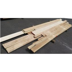 """Maple & Poplar Wood, 1"""" thick, 2""""-6"""" wide, 12' Ave Per Piece"""