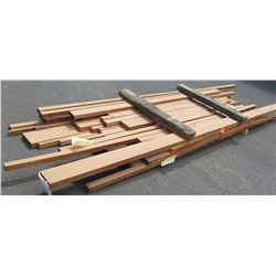 """African Mahogany Bundle, 200 Total Board Ft, 2"""" x 8-15' Ave Per Piece"""
