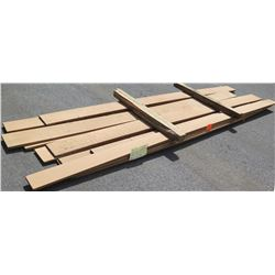 "Iroko Bundle, 180 Total Board Ft, 1"" x 10-14' Ave Per Piece"