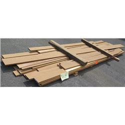 "Iroko Bundle, 175 Total Board Ft, 1"" x 8-12' Ave Per Piece"