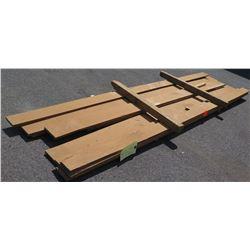 "Walnut Bundle, 120 Total Board Ft, 1"" x 13' Ave Per Piece"