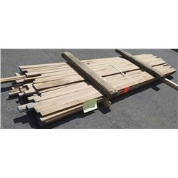 "Walnut Bundle, 125 Total Board Ft, 1"" x 10' Ave Per Piece"