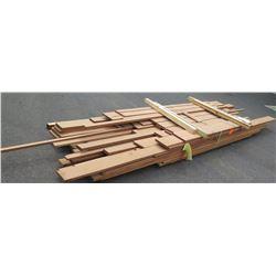 "Sapele Bundle, 400 Total Board Ft, 1"" x 8-17' Ave Per Piece"